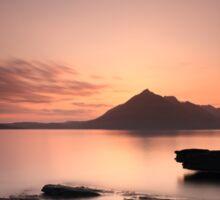 Elgol Sunset Afterglow Sticker