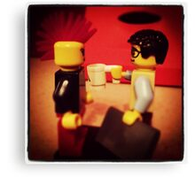 Lego Love at First Byte Canvas Print