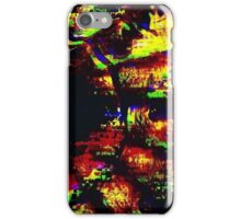 Glitch - Asian Fan - MatchaAlan iPhone Case/Skin