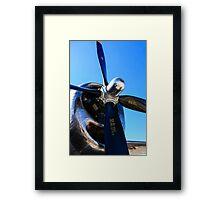 Wright R-3350 Duplex Cyclone radial engines Framed Print