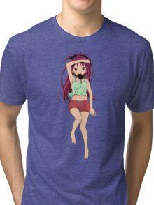 Kyoko Sakura - Daki Style Tri-blend T-Shirt