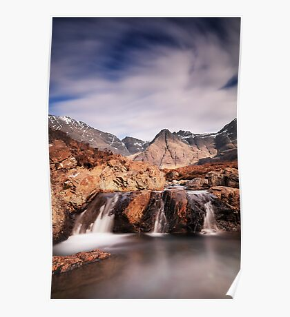 Ghost of the Fairy Pools Poster