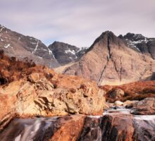 Ghost of the Fairy Pools Sticker