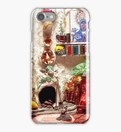 La Casita (Little House) /Scene from a Miniature) iPhone Case/Skin