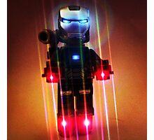Lego ironman Photographic Print