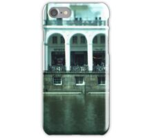Hamburg city -tiltshift (1) iPhone Case/Skin