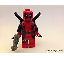 Lego Deathpool  Photographic Print