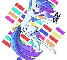 Vinyl Scratch by StickFigureQ