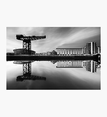 Clyde Waterfront Mono Photographic Print