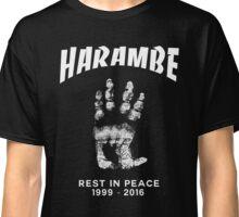 Harambe Handprint Classic T-Shirt