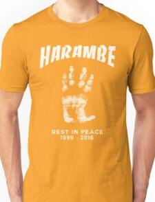 Harambe Handprint Unisex T-Shirt