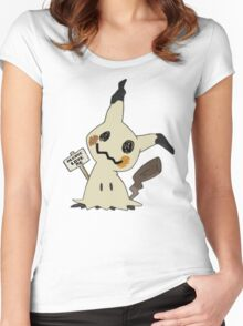 Mimikyu - Love Me Women's Fitted Scoop T-Shirt