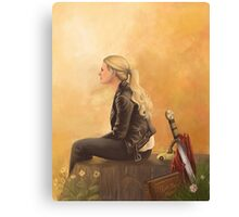Emma Swan Canvas Print