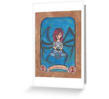 The Black Widow Greeting Card