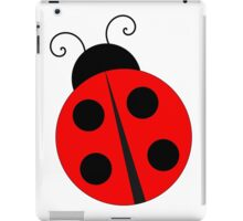 Cute big Ladybug,kid,kawaii,big,ladybug,cute,insect,children,pattern iPad Case/Skin