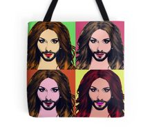 Conchita Wurst - Pop Art Tote Bag