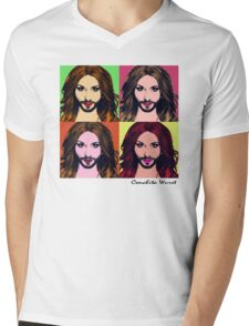 Conchita Wurst - Pop Art Mens V-Neck T-Shirt