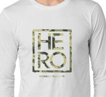 HERO GREEN CAMO SQUARE Long Sleeve T-Shirt
