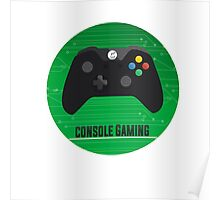 Console Gamepad Poster