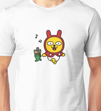 KakaoTalk Friends Muzi & Con (Little Red Riding Hood) Unisex T-Shirt