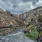 Royal Gorge Canyon by John  Kapusta