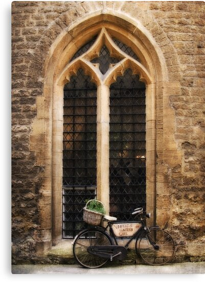 The Vaults Garden Cafe Bicycle, Oxford, England by Jay Taylor