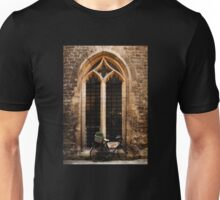 The Vaults Garden Cafe Bicycle, Oxford, England Unisex T-Shirt
