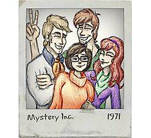 Mystery Inc 1971 Photographic Print