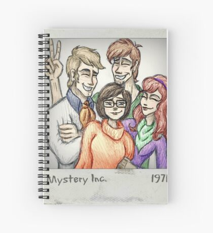 Mystery Inc 1971 Spiral Notebook