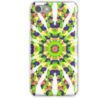 Stained Glass Illusion Mandala iPhone Case/Skin