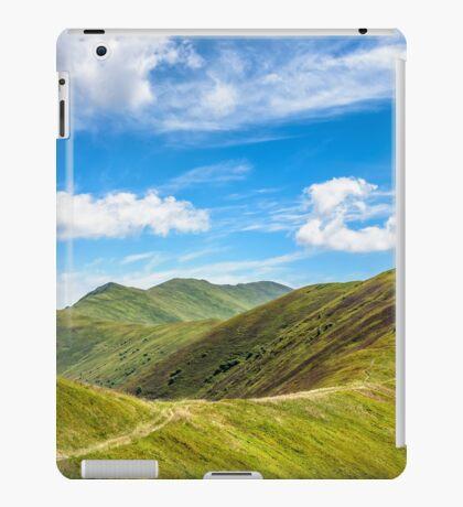 path to the mountain top iPad Case/Skin
