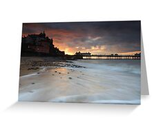 Cromer, Norfolk, United Kingdom Greeting Card