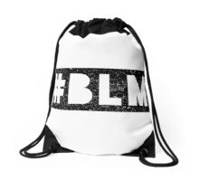 #BLM SCRATCH Drawstring Bag