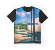Boeing 777 at Tampa International Airport in Florida Graphic T-Shirt