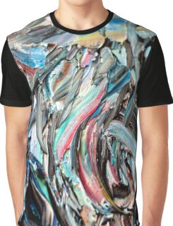 RGB Marble Painting Graphic T-Shirt