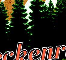 BRECKENRIDGE COLORADO Hiking Skiing Mountain Mountains Camping Sticker