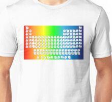 Rainbow Cat Periodic Table Unisex T-Shirt