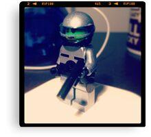 Lego Robocop minifig Canvas Print