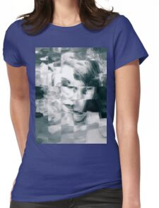 Abstract woman Womens Fitted T-Shirt