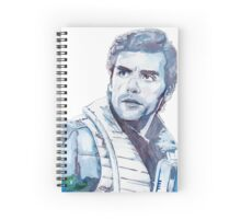 Oscar Isaac Watercolour Spiral Notebook