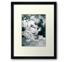 Abstract woman Framed Print