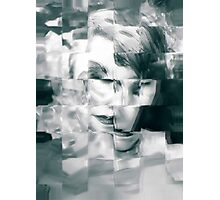 Abstract woman Photographic Print