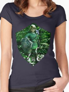 The Legend of Link Women's Fitted Scoop T-Shirt