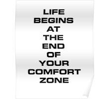 Comfort Zone Poster