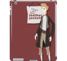 Fine Leather Jackets iPad Case/Skin