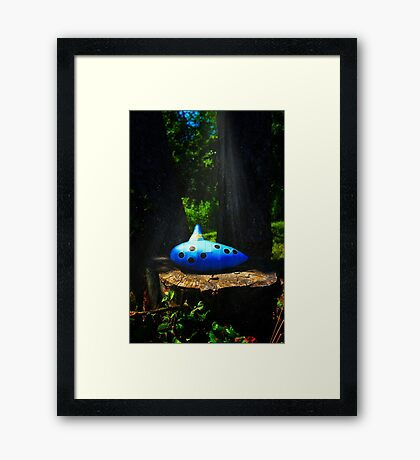 The Ocarina of Time Framed Print
