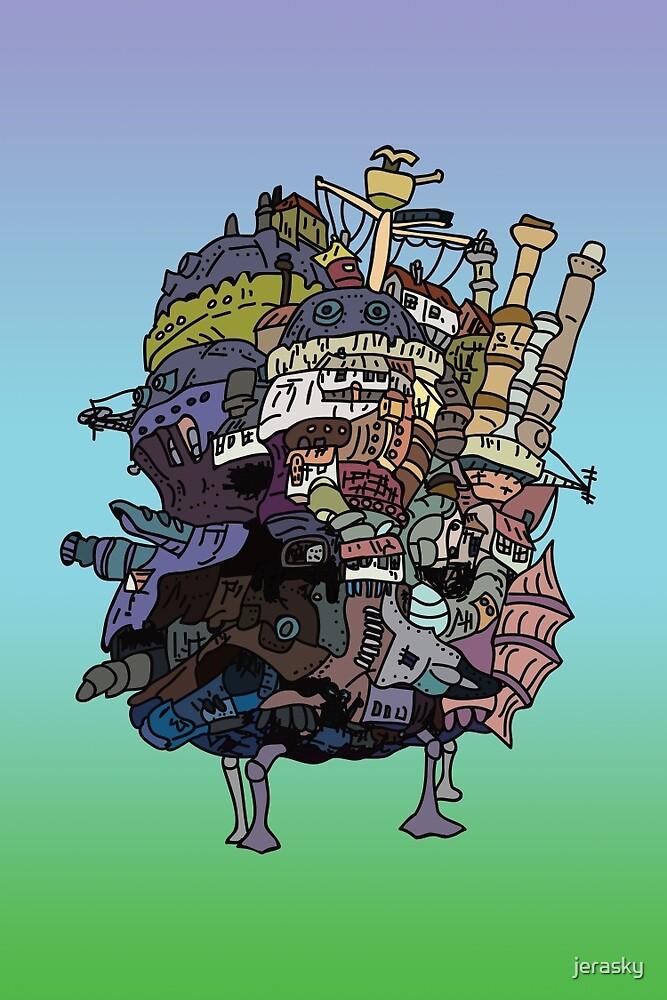 Moving Castle by jerasky