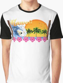 Hawaii Surf Graphic T-Shirt