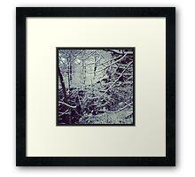 Snow Time Framed Print