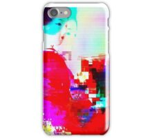 Glitch - Geisha - MatchaAlan iPhone Case/Skin